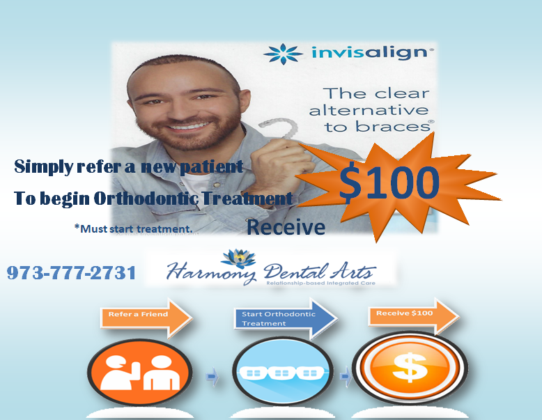 Simple refer a new patient banner