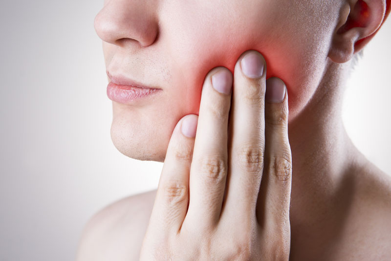 Dental Patient Suffering From Wisdom Tooth Pain